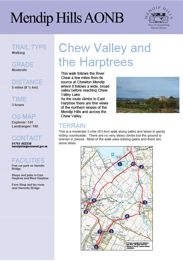 Chew Valley walking holiday